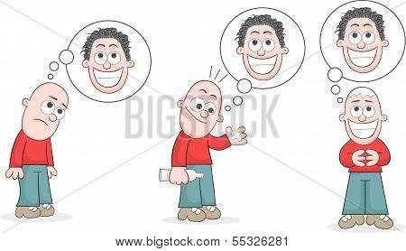 Bald Man Set