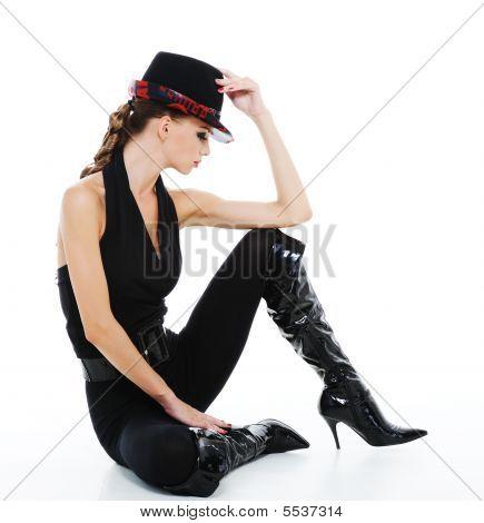 Fashionable Glamour Girl