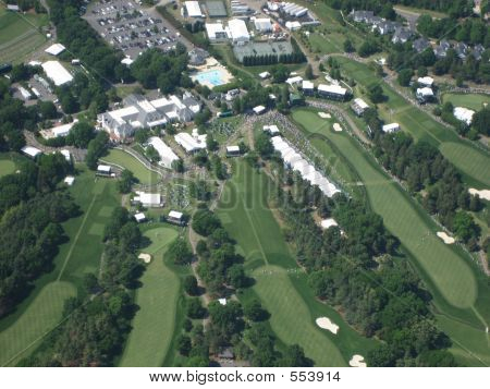 Aerial Of Pga Golf Evert