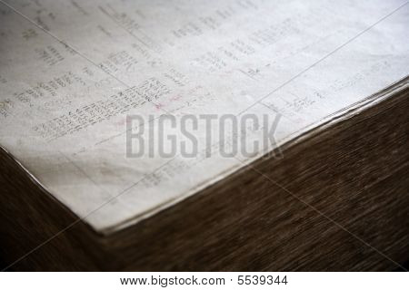 Old Financial Report