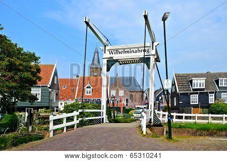 Quaint Dutch village