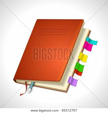 Organizer Day Book icon for your design