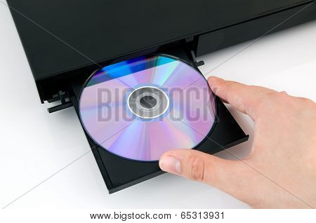 Disc Insterted To Dvd Or Cd Player