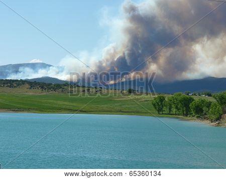 Wildfire Smoke Across the Sky