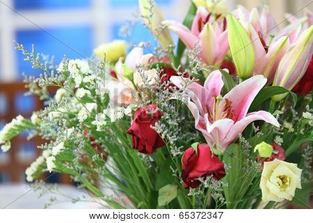 lovely bouquet of fresh flowers