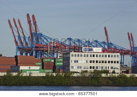 Hamburg - Container Gantry Cranes