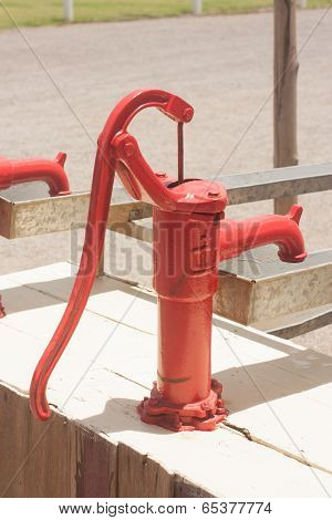 Retro Water Pump