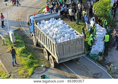 Sandbags Transport