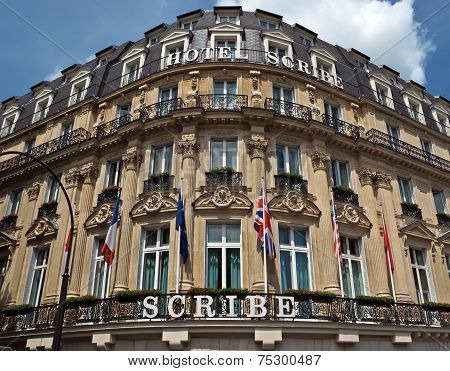 Paris - Hotel Scribe