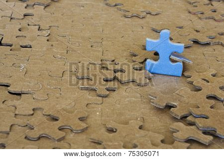 Cropped Puzzle Piece