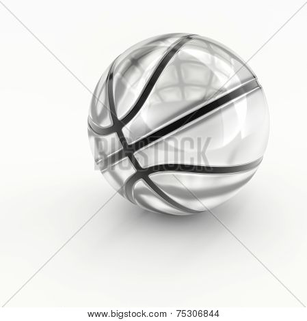Glass/Crystal Basketball