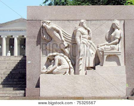 Washington Dc Court Of Appeals Bas-relief 2013