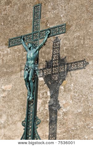 Crucifix and Its Shadow