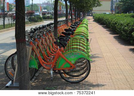 Bicycle Rental in Pingyao, Shanxi