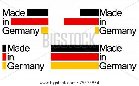 Collection Seal Of Quality Germany
