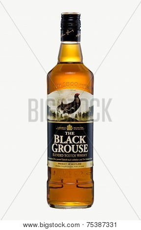 One Bottle Of The Black Grouse Blended Scotch Whisky