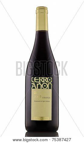Red Dry Wine Cerro Anon Crianza Rioja 2009
