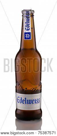 One Bottle Of Beer Edelweiss Weissbier Snowfresh