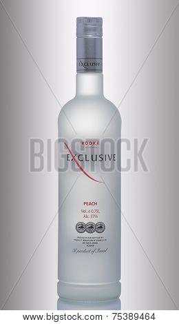 One Bottle Of Vodka Exclusive Peach
