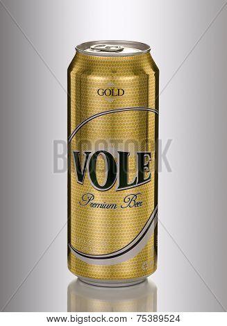 Vole Premium Beer Gold