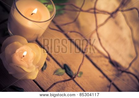 Scented Candles Attributes Rest Relaxation