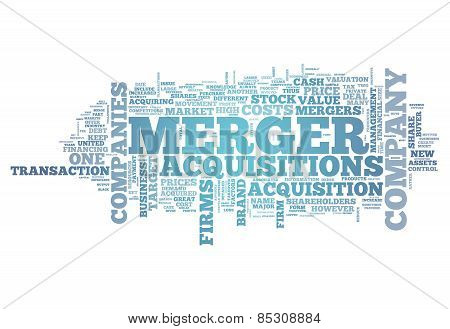 Word Cloud Merger & Acquisitions