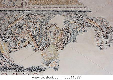 Antique Mosaic, National Park Zippori, Galilee, Israel
