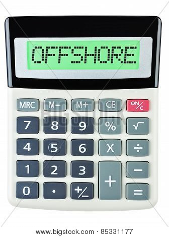 Calculator With Offshore