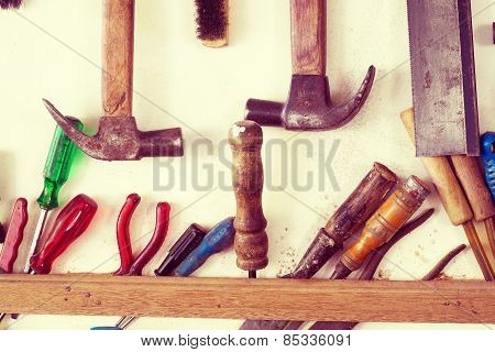 Assorted tools for capanter