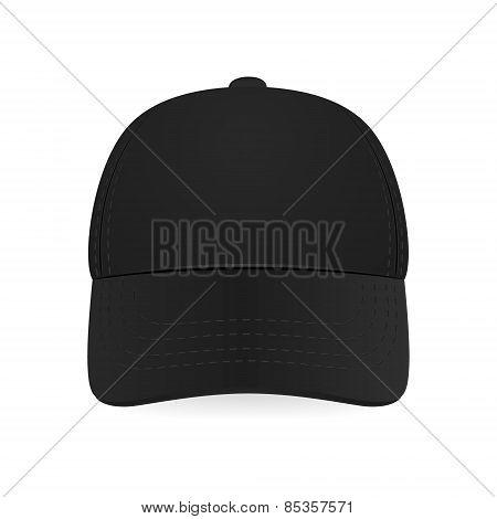 Black Baseball Cap.