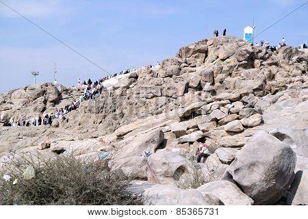 Mount Arafat Of Mercy (jabal Rahmah)