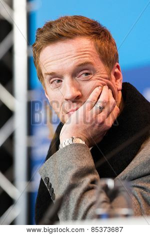 BERLIN, GERMANY - FEBRUARY 06:Actor Damian Lewis, press conference during the 65th Film Festival at Hyatt Hotel February 6, 2015 in Berlin, Germany.