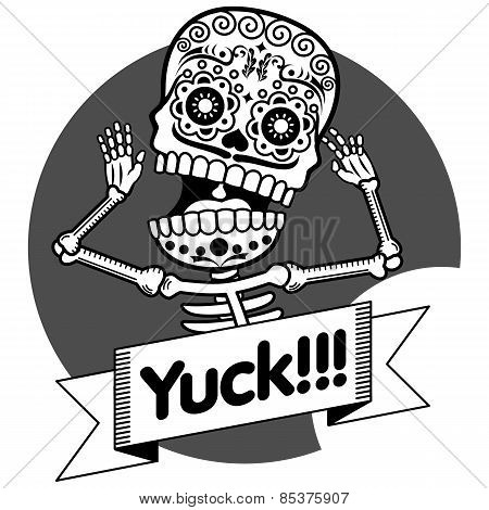 Skeleton T-shirt - Yuck