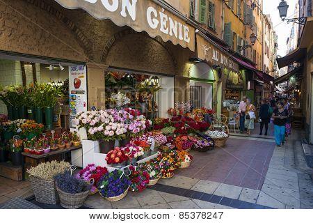 NICE, FRANCE - OCTOBER 2, 2014: