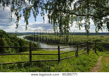 Country summer landscape