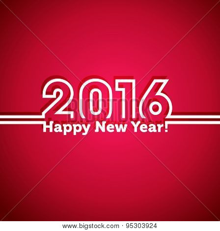 2016 Happy New Year Background.