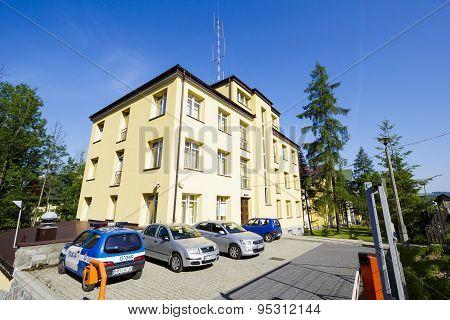 The Brick Building In Zakopane
