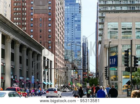 Busy Chicago