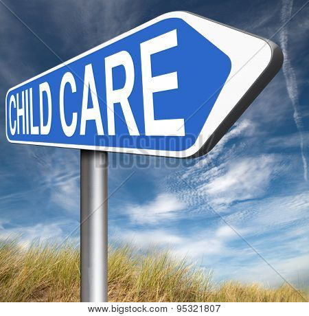 child care center in daycare or creche babysitting protection against child abuse