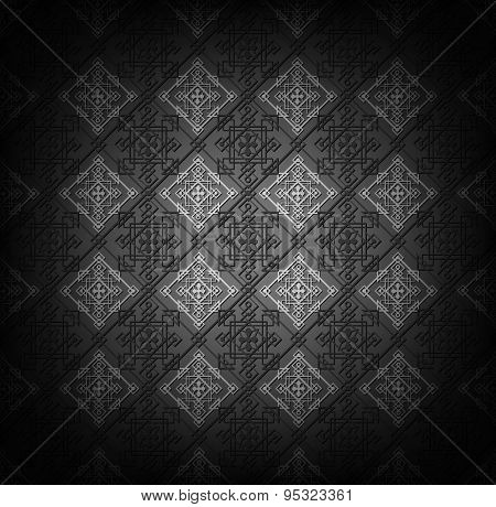 Vector geometric seamless pattern. Abstract background. Eps10