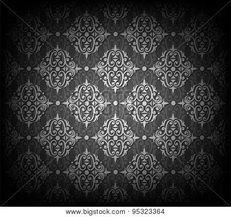 Vector illustration of seamless wallpaper pattern. Eps10