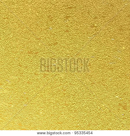 Vector abstract gold background foil