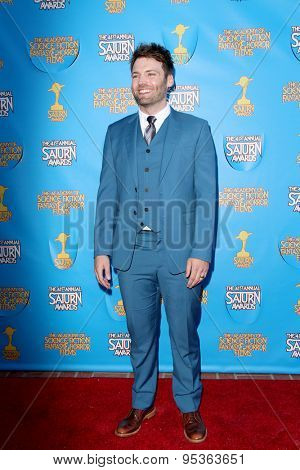 BURBANK - JUNE 25: Seth Gabel arrives at the 41st Annual Saturn Awards on Thursday, June 25, 2015 at the Castaway Restaurant in Burbank, CA.