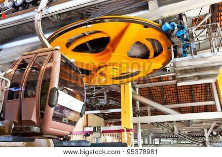 Cable car wheel