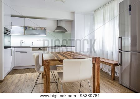 Modern Kitchen Interior Design Architecture Stock Image,Photo of Living room, Bathroom,Kitchen,Bed room, Office, Interior photography.