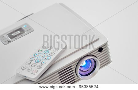 Video led projector for work presentation or home cinema