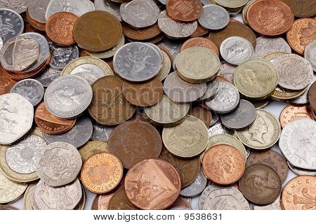 British Coins (pounds And Pence)