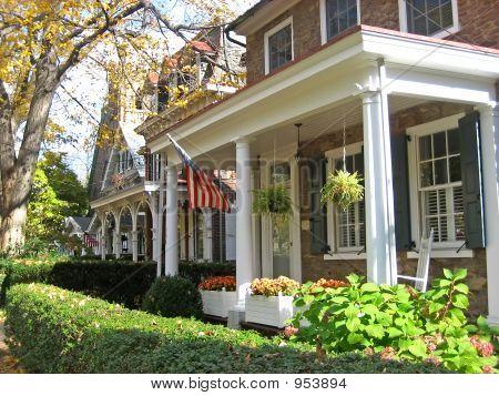 Small Town House Facades