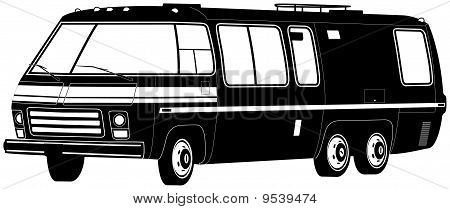 Motorhome Illustration