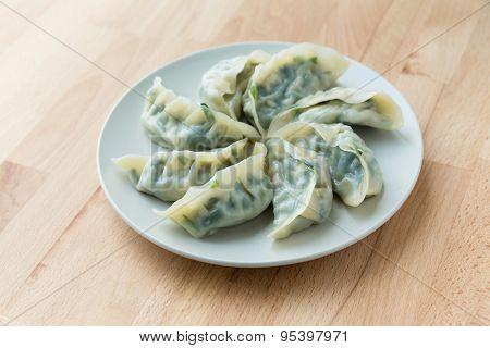 Meating dumpling
